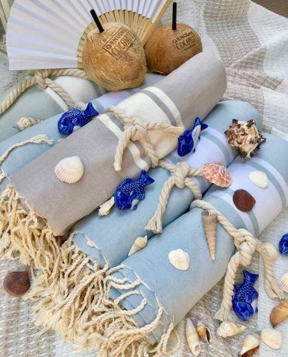 Strandtücher von Febronie gewinnen bei eurolanguage