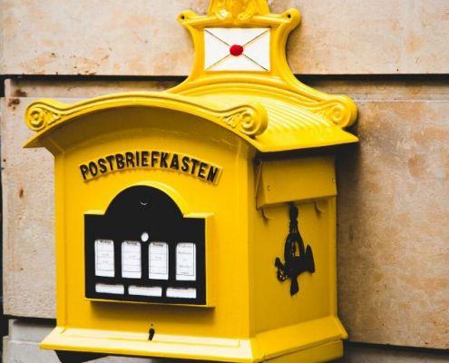 beglaubigte Übersetzungen per Post versendet